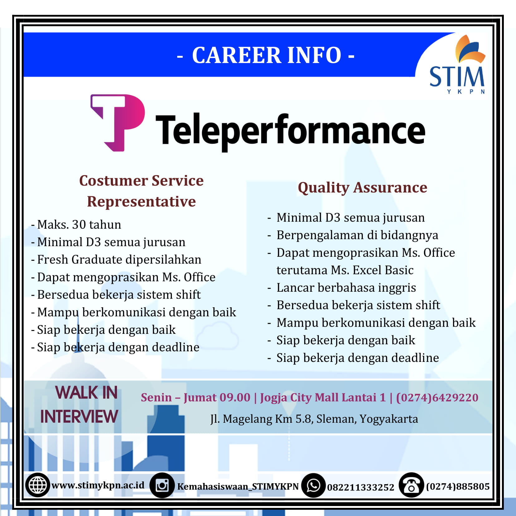 teleperformance-job-vacancy